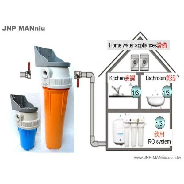 Whole House Inlet Water Purification System